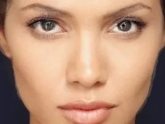 Tres jolie. Angelina Jolie and Halle Berry, morphed. University of Leicester