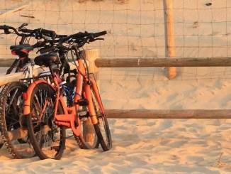 locked bikes by Sean