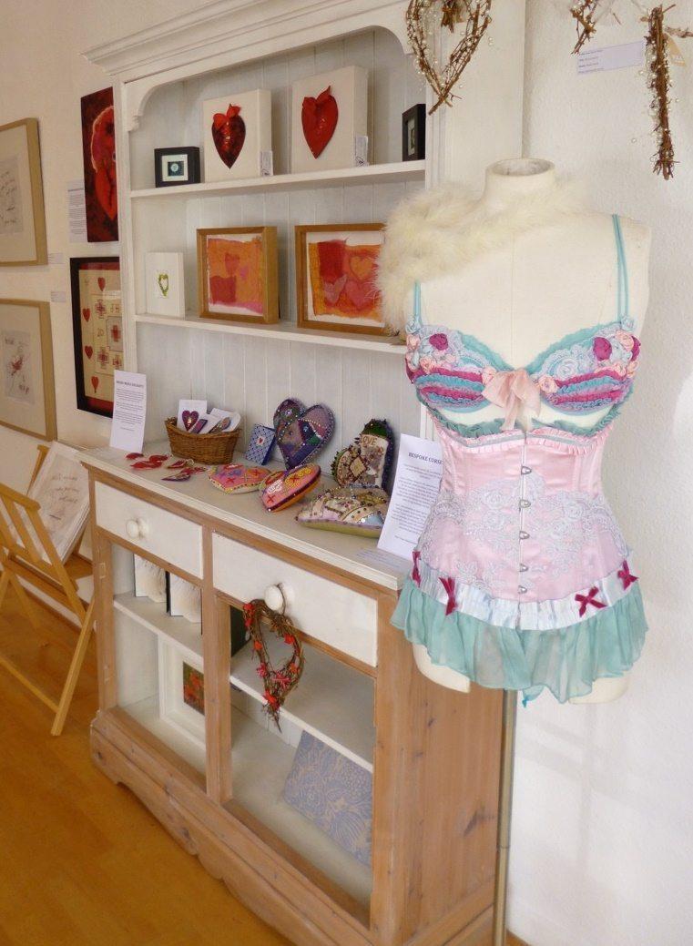 Lisa Keating's corset