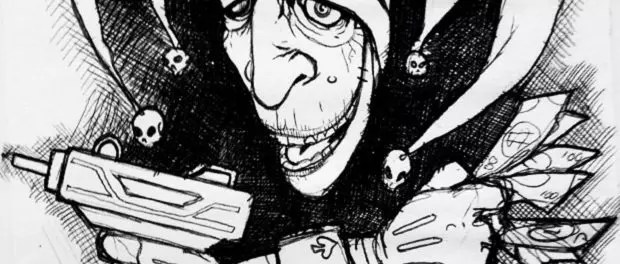 joker by Dan Booth