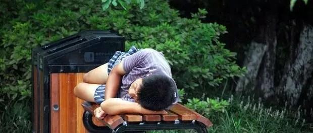 chap takes a nap