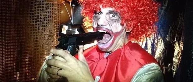 suicidal clown