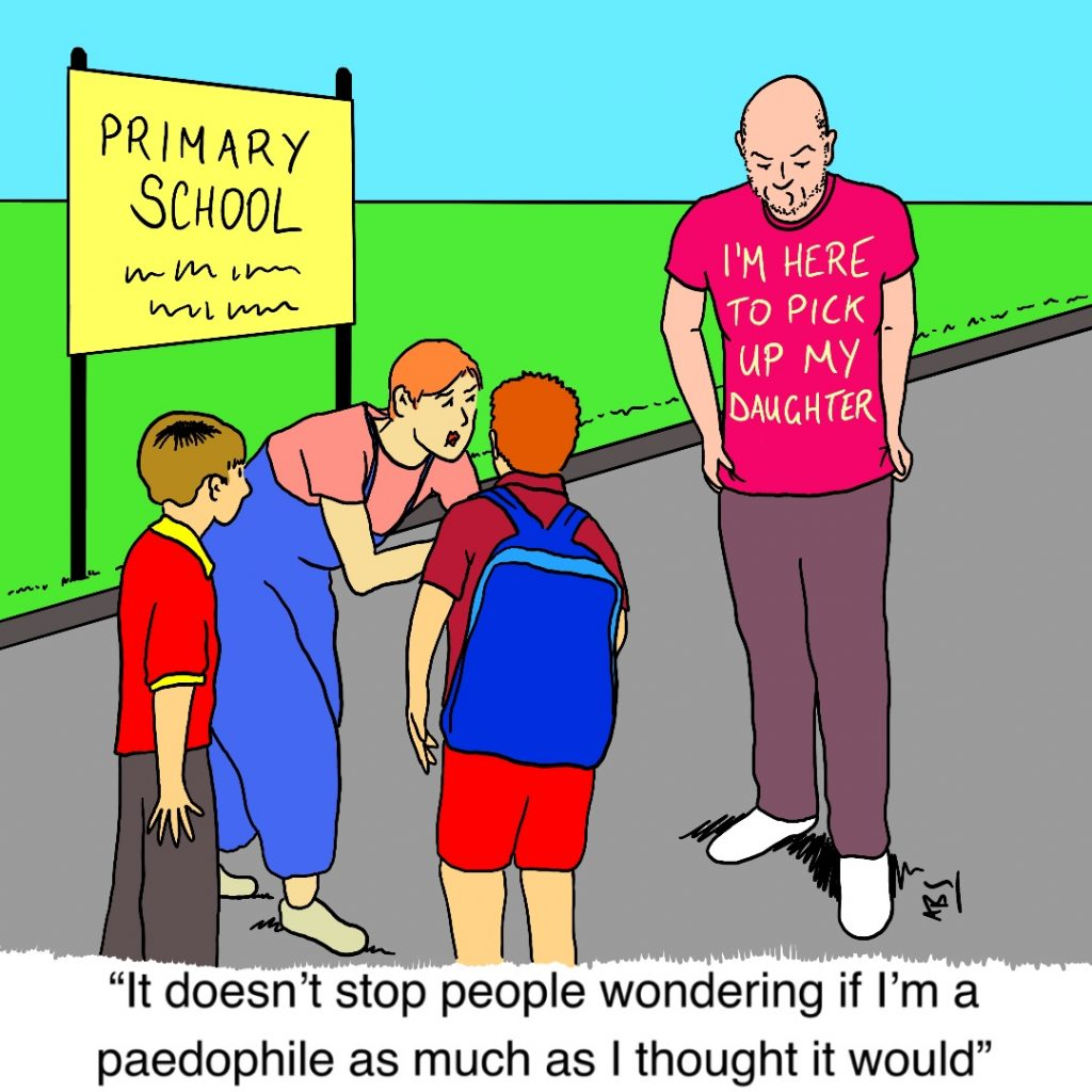 Pae Tee: Satirical Saturday Cartoon on Art by Alex Brenchley 2019