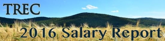TREC 2016 Salary Report Banner
