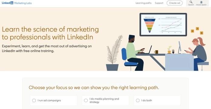 LinkedIn marketing school