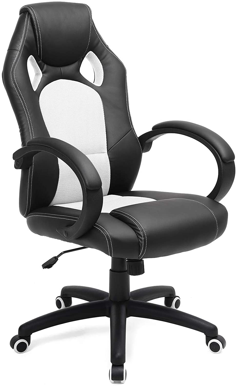 Le sedie regolabili in altezza nella versione base offrono un buon comfort se il periodo. Songmics Poltrona Girevole Direzionale Ergonomica Da Ufficio Prezzo Offerte E Recensione Sedie Da Ufficio