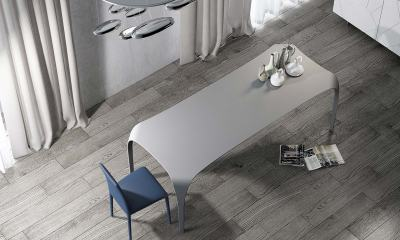 Ultimate and Modern Italian Design dining table UNICO by Riflessi-design-table-in-technoril-unico-riflessi-detail-1