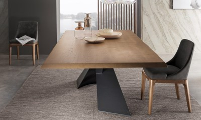 Limited Edition Italian Design dining table SHANGAI by Riflessi-01