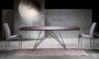 Italian Design - Modern dining table PEGASO By Riflessi