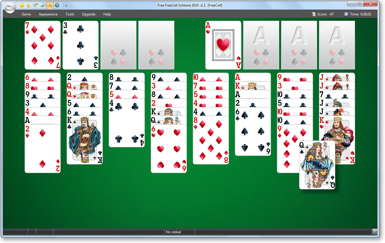 Free Cell Solitaire Download