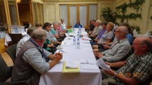 Delegates meeting