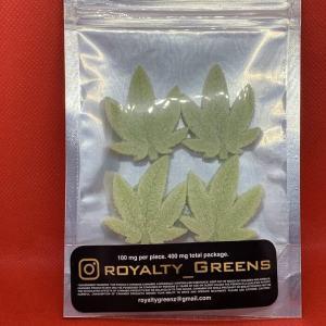 ROYALTY GREENS Gummies – Sour Apple 400mg