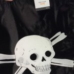 Skull and Crossbones Trick-or-Treat Tote Bag