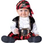 Pint Size Pirate Infant Costume: 6-12 Months