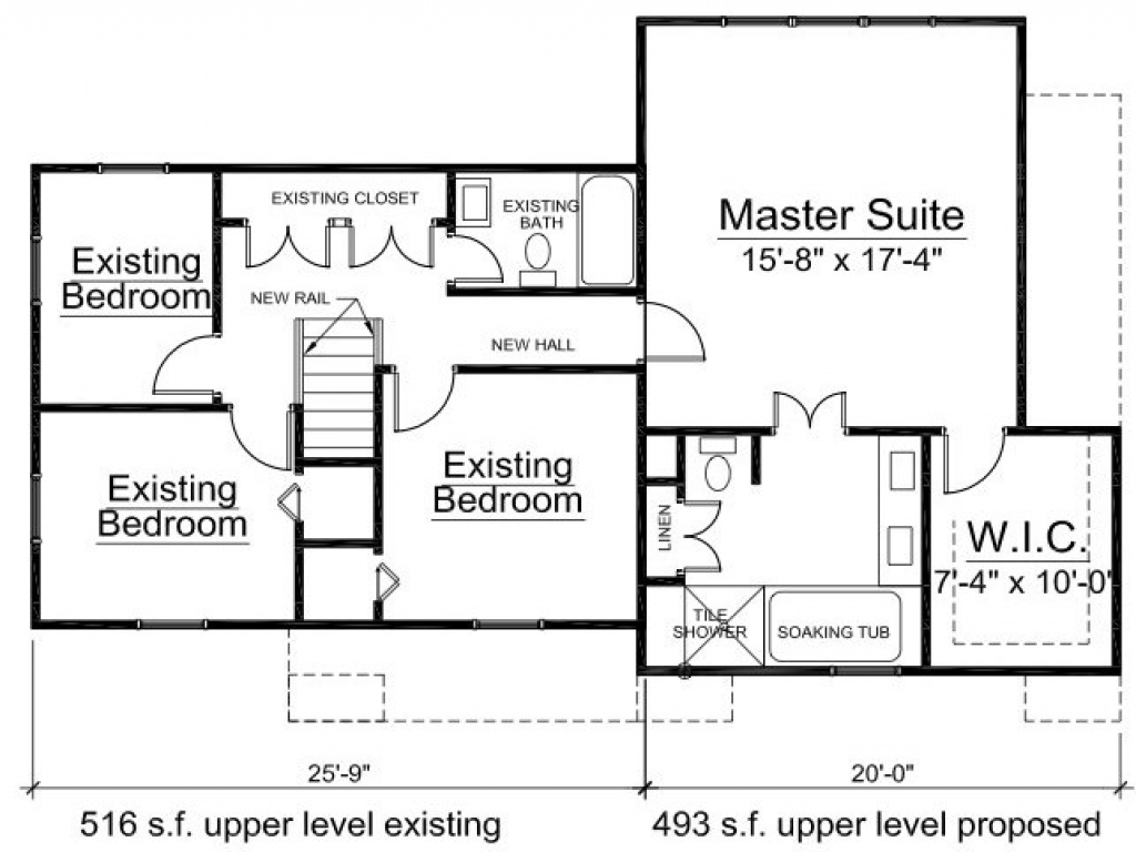 Home Addition Floor Plans Home Addition Drawings 2nd