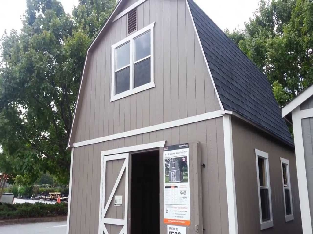 Log Cabins Home Depot Home Depot Two Story Barn Shed