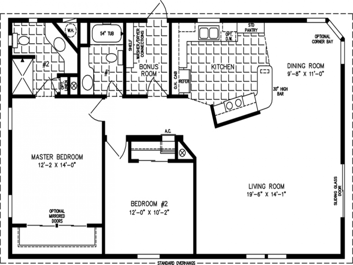 Square Feet 1 Floor Square Foot House Plans