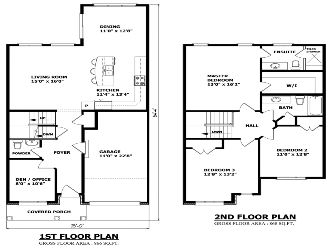 Tropical Two Floor Houses Two Story House Floor Plans 2 Floor Home Plans