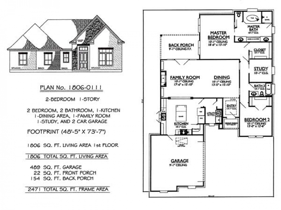 Story 2 Bedroom 2 Bathroom 1 Dining Room 1 Family Room