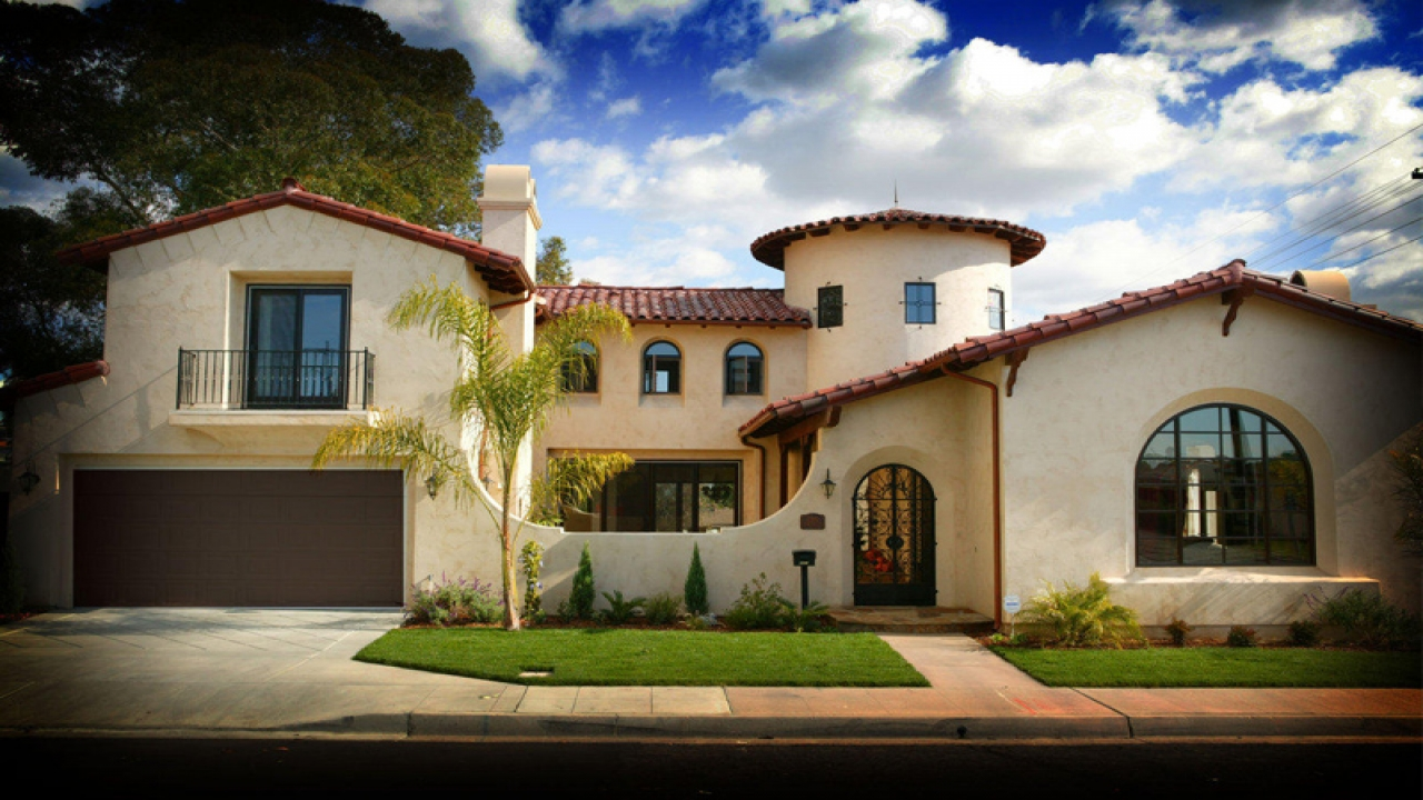 Spanish Colonial Style Home Small Spanish Style Homes