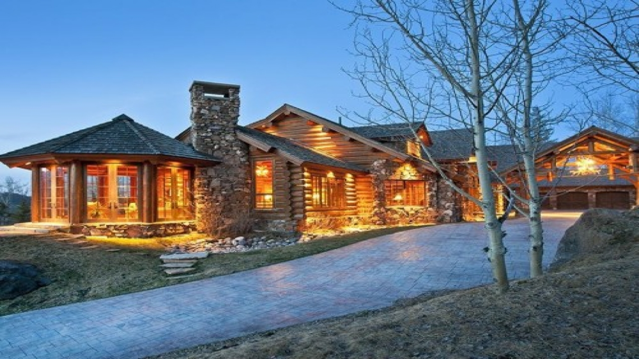 Luxury Log Cabin Home Luxury Mountain Log Homes Contemporary Log Cabin