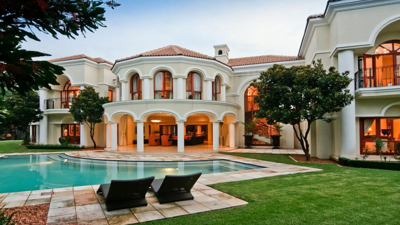 South African Mansions Kenny Kunene House Mansion Style