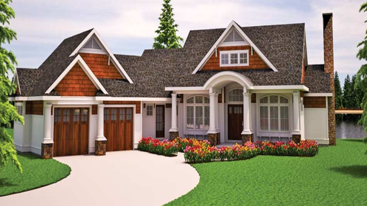 Craftsman Bungalow Cottage House Plans Small Craftsman