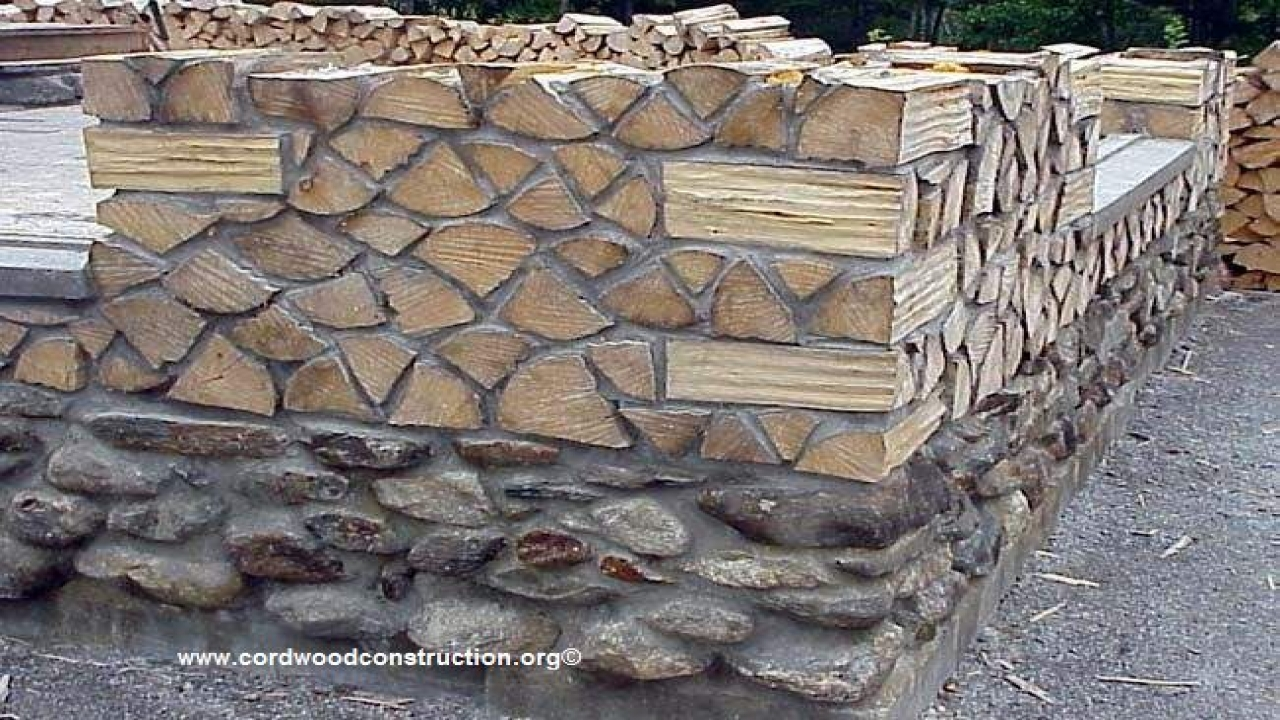 Best Wood For Cordwood Construction Cordwood House