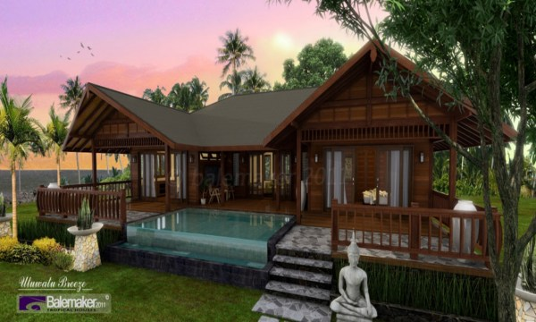 Tropical Style House Plans Tropical Island House Plans