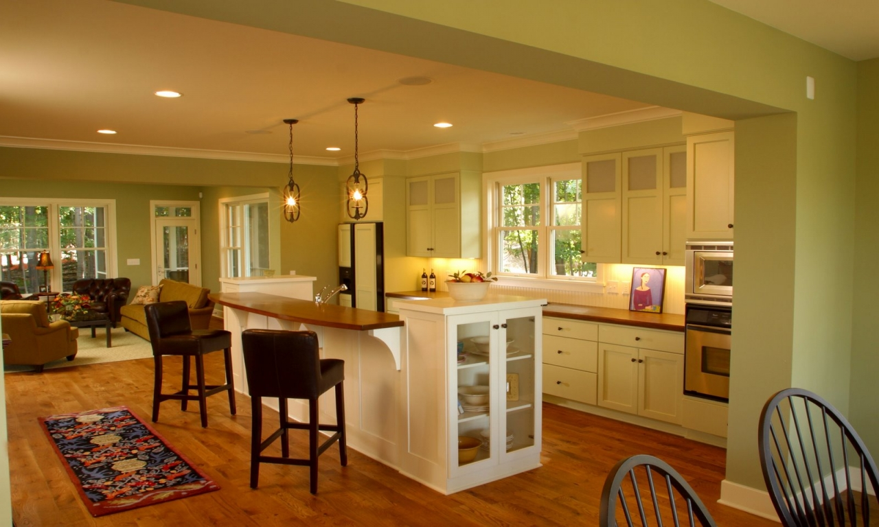 Open Floor Plan Small Kitchen