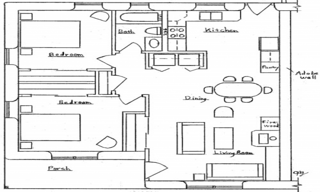 Small Duplex House Plans Small Two Bedroom House Plans Duplex Building Designs