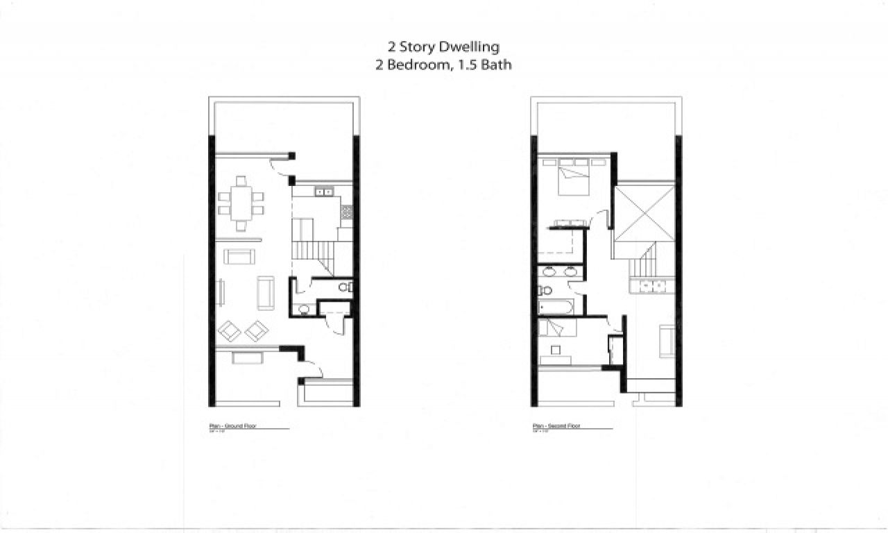 Small House Plans Under Sq Ft 3d Small House Plans Small Townhouse Plans