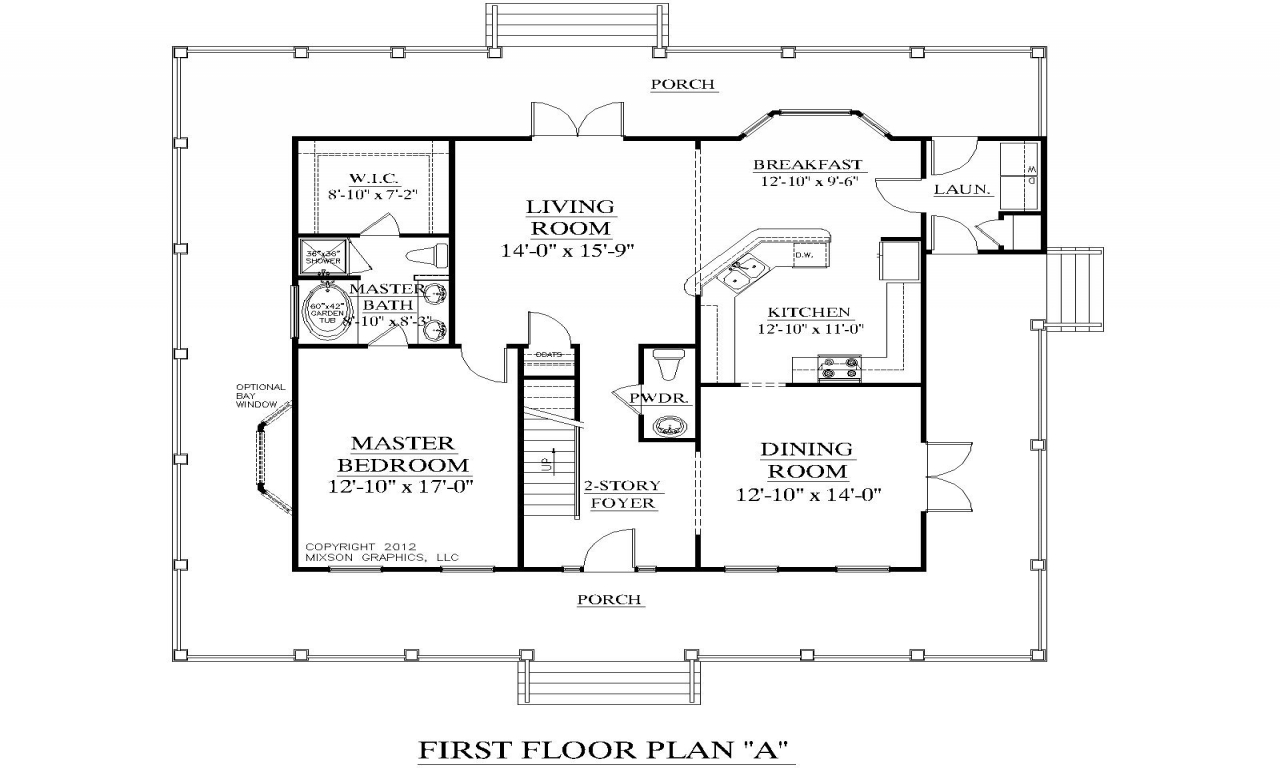 Two Bedroom Single Story Home 3 Bedroom Two Story House