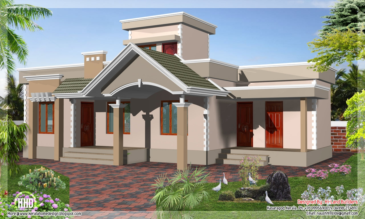 1 Floor House Designs Beautiful House Plans Designs One