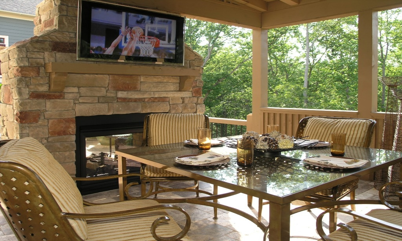 Outdoor Patio and Deck Ideas Lowe's Decks and Patios ... on Lowes Patio Design id=53927
