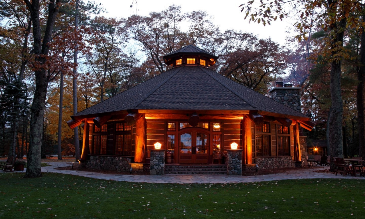 Post And Beam Log Home Small Post And Beam House Luxury