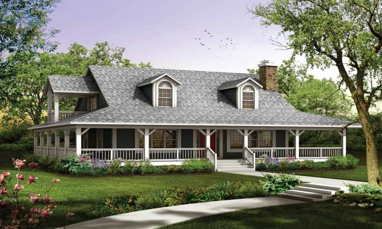Ranch House Plans With Wrap Around Porch Ranch House Plans With 2 Master Suites Small Farmhouse