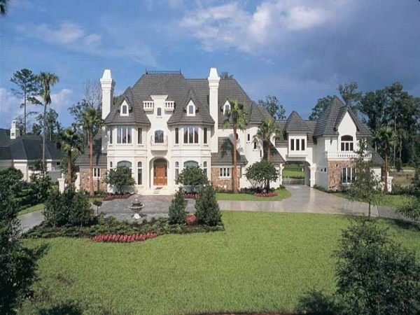 French Chateau Style House Plans French Chateau House ...