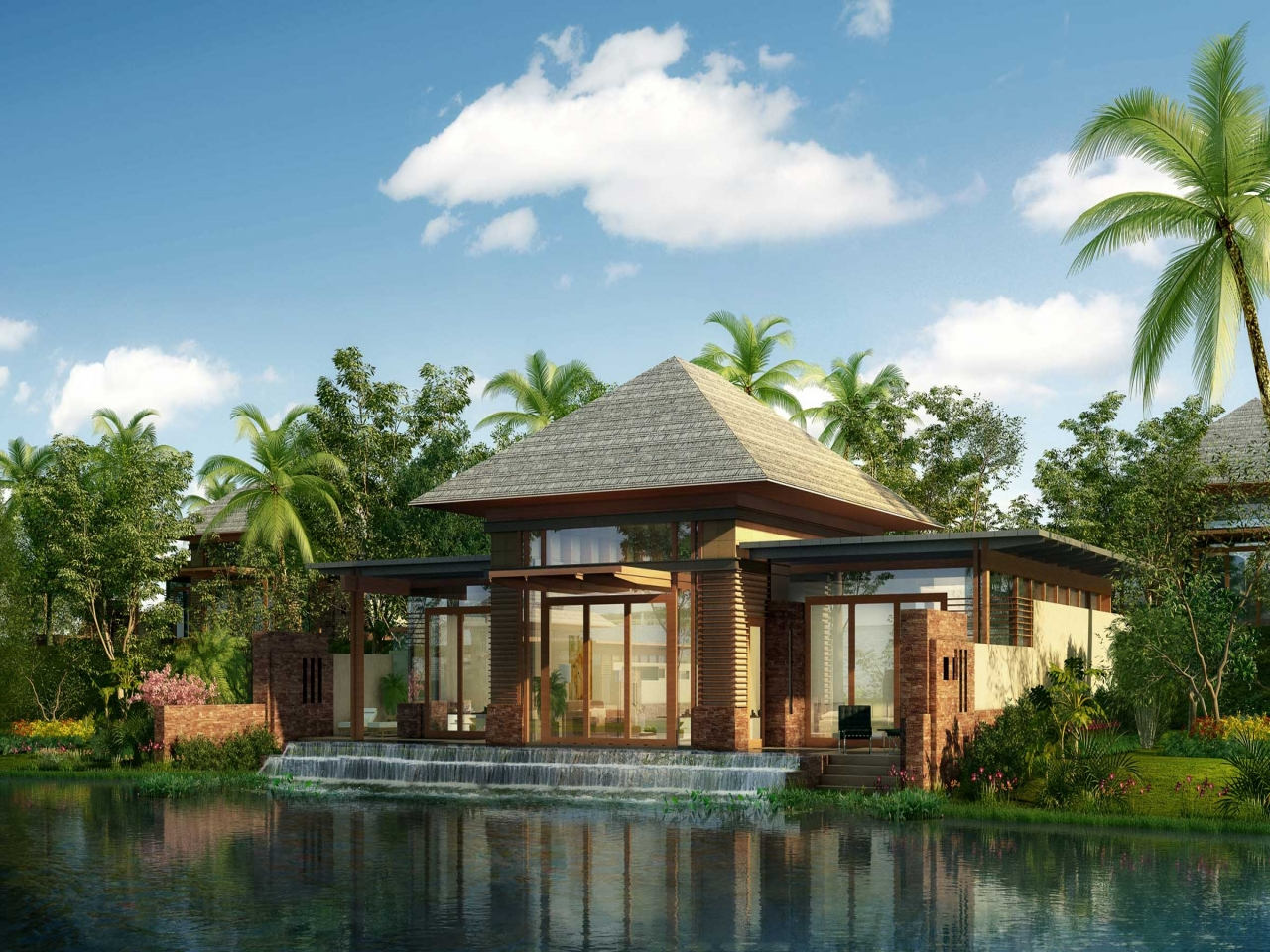 Luxury Tropical Resorts Tropical All Inclusive Resorts Resort House Plans