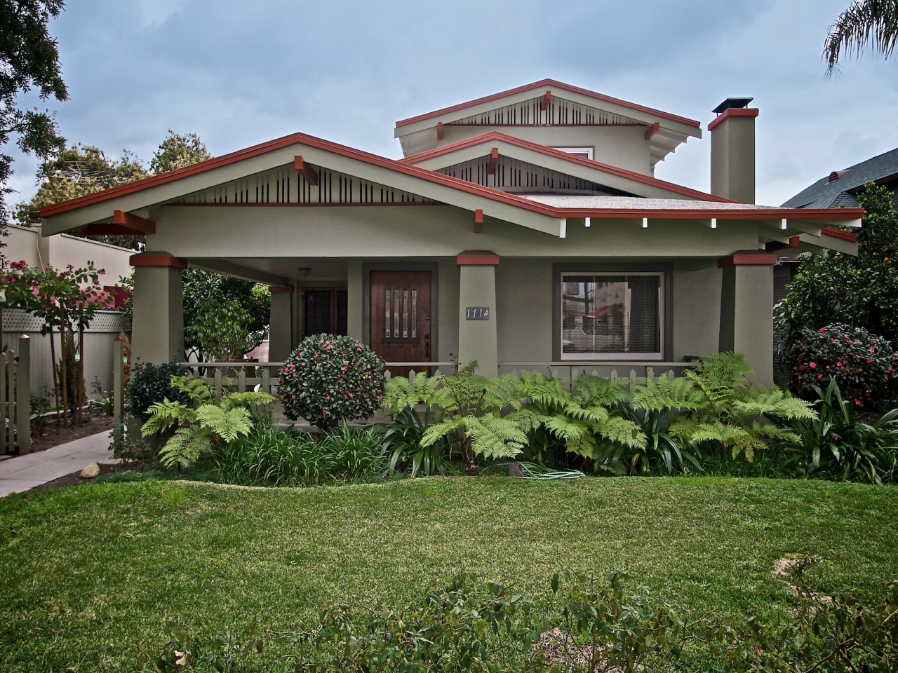 California Bungalow Style Bungalow Style Architecture