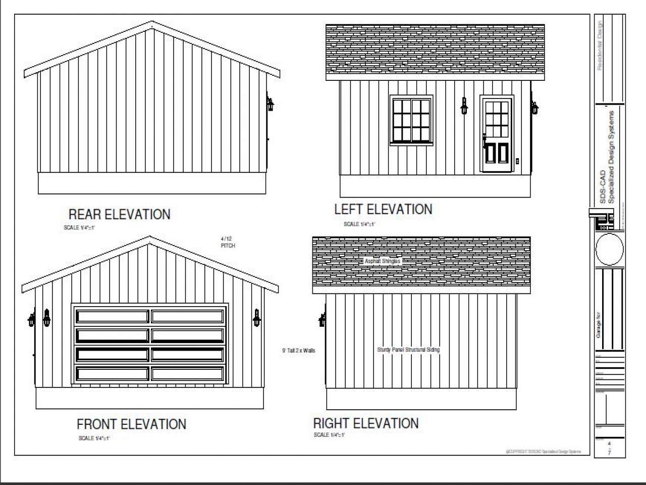 20 X 24 2 Storey Garage 20 X 24 Garage Plans Cabin House