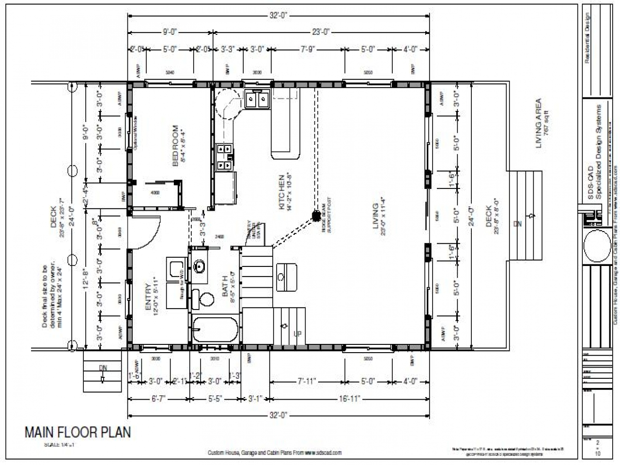 12 X 12 Cabin With Loft Cabins 12 X 24 Plans Cabin