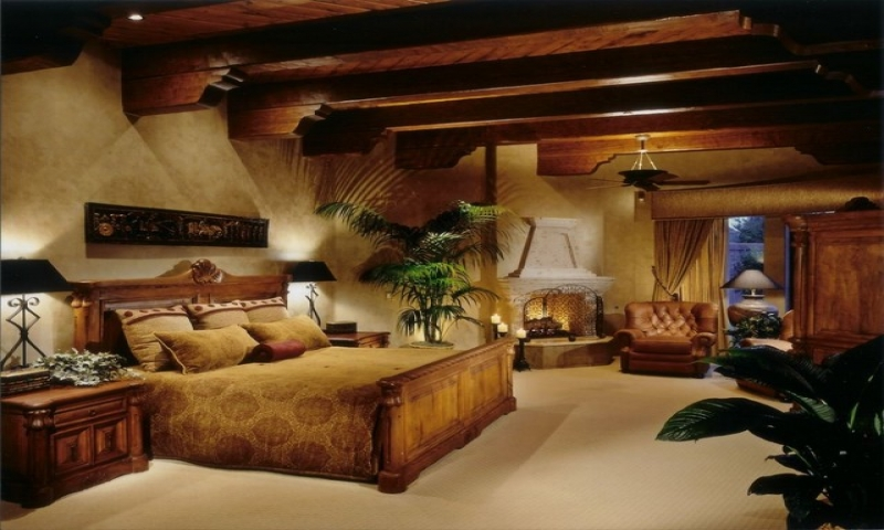 Mediterranean Rustic Master Bedroom Designs Romantic