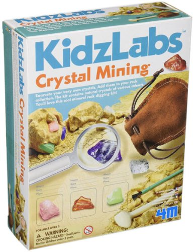 Great science gift for 5-6 year old: Crystal Mining Kit