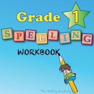 Grade 1 Spelling Workbook .PDF - 230 Lesson Spelling Curriculum For Homeschool