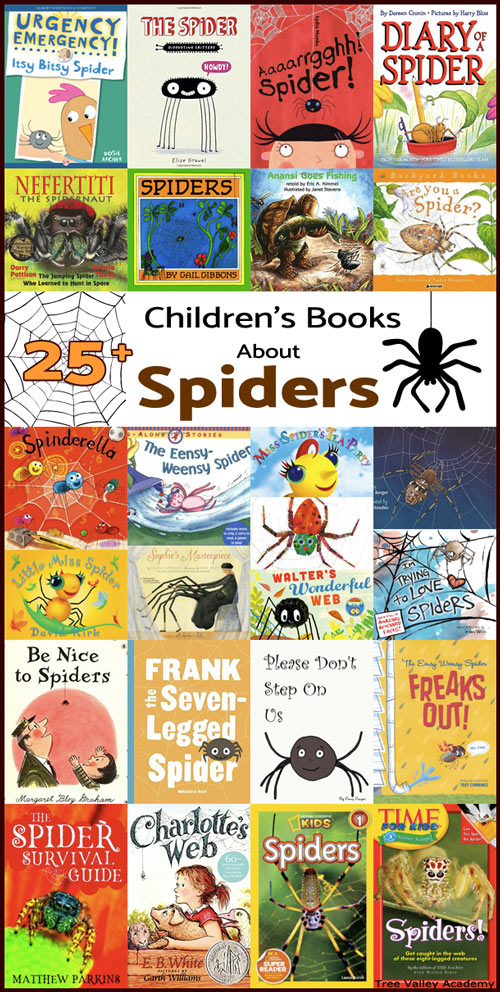 25+ children's books about spiders. Doing a spider unit? Here are our top choices of spider books for kids.