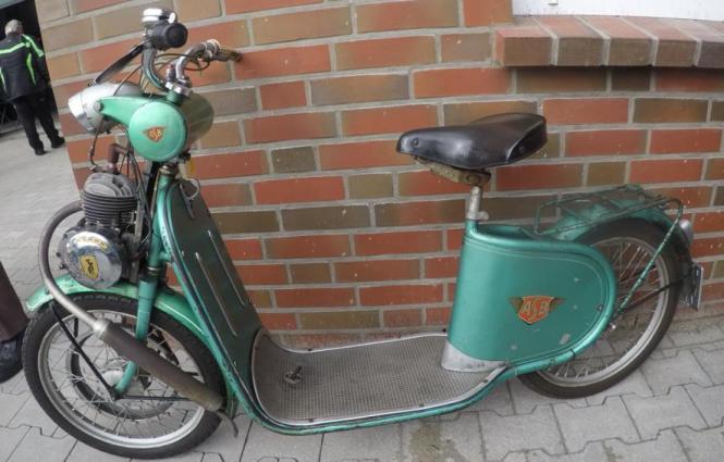 Zündapp ASB Roller aus dem Jahre 1954