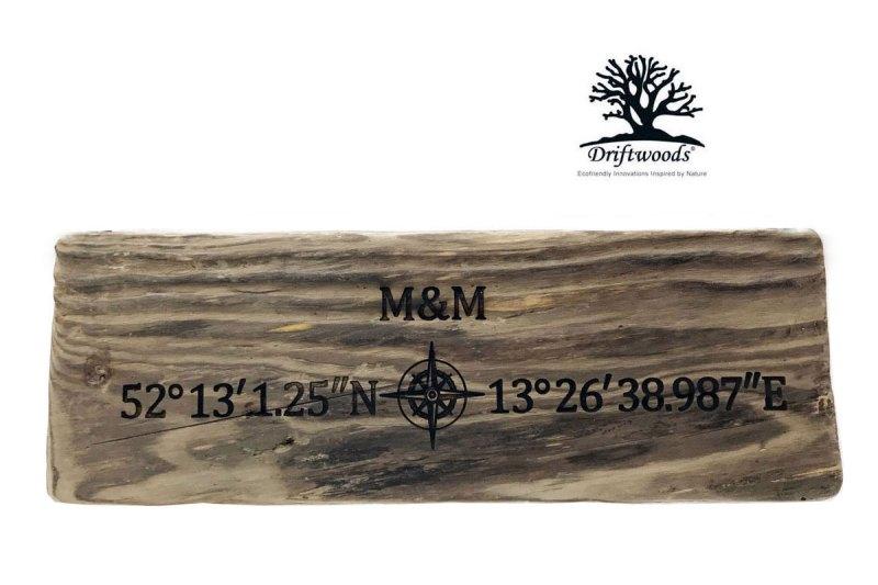 driftwoods-treibholzschild-koordinaten-kompass