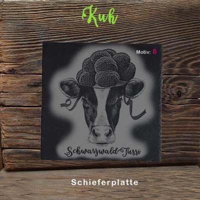 Schieferplatte-Kuh-Bollenhut