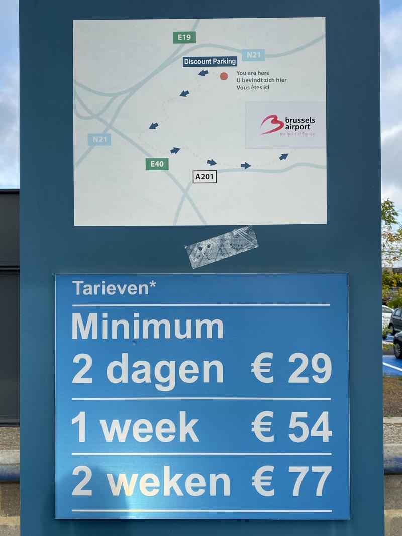Discount Parking Brussel Airpot
